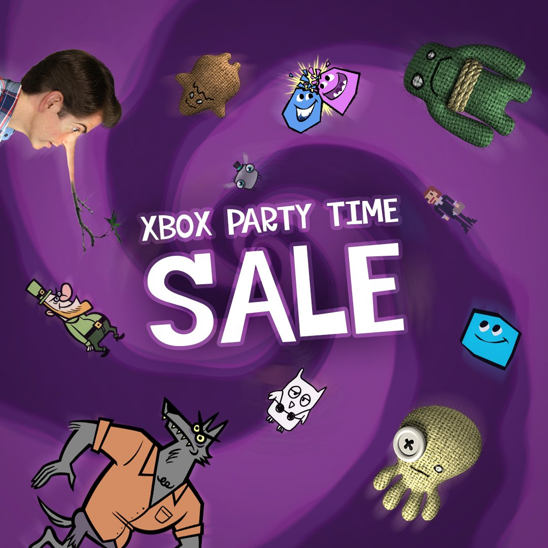 The Jackbox Party Packs 3 & 4 are 40% off in the Microsoft store for #Xbox! Let the parties begin! http://bit.ly/38dsjDu