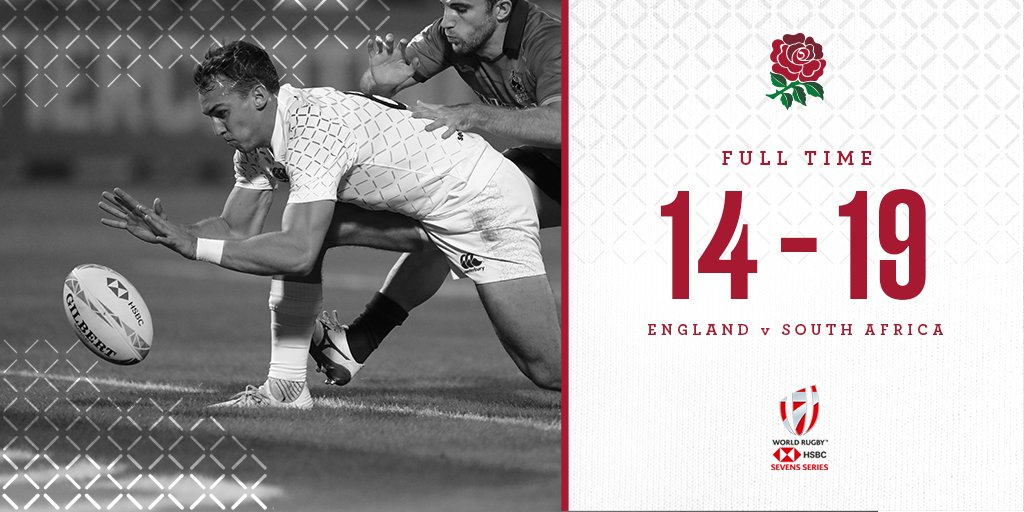 test Twitter Media - FINAL SCORE | England men are edged out by South Africa in their final group match #Dubai7s   They will progress to tomorrow's Cup quarter-final 🌹 https://t.co/BTtXiX4WlZ