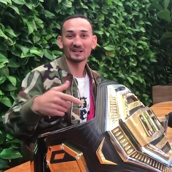 Max Holloway and Conor McGregor have only had one one off-camera interaction. @BlessedMMA tells the tale (via @marc_raimondi)