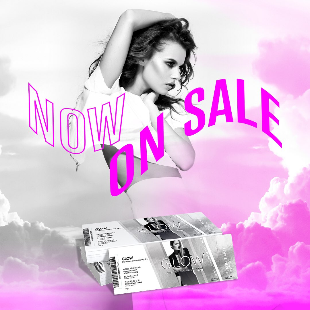 🖤 NOW ON SALE 🖤  Auf https://t.co/cz7y7DZSu6 bekommt ihr jetzt Tickets für unser Event im April! Seid schnell - der Samstag ist schon almost sold out! #glowcon #glowbydm https://t.co/OVMjD0Yg9O