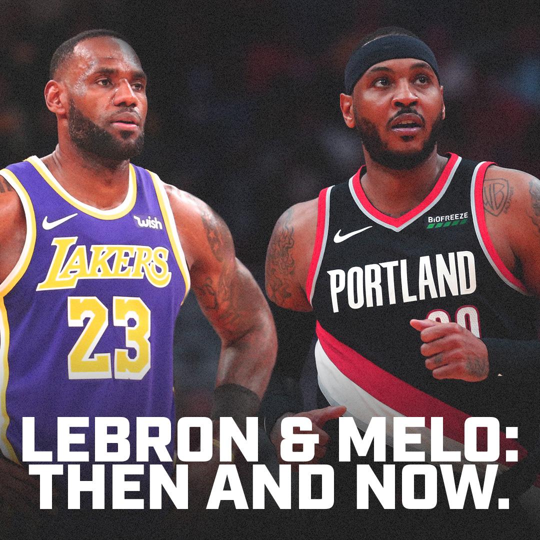 Lebron vs Melo tonight... must watch TV?