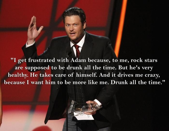 Adam Levine and Blake Shelton | Why Blake Shelton Wants Adam Levine to Start Drinking |... <br>http://pic.twitter.com/gGg6ZOpMcK