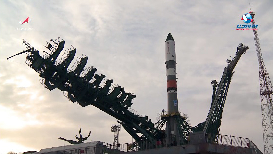 Russian cargo ship will deliver 700 kg of fuel and gas, 1,350 kg of equipment and cargo, 420 kg of water and food to the International Space Station http://xhne.ws/3INuf