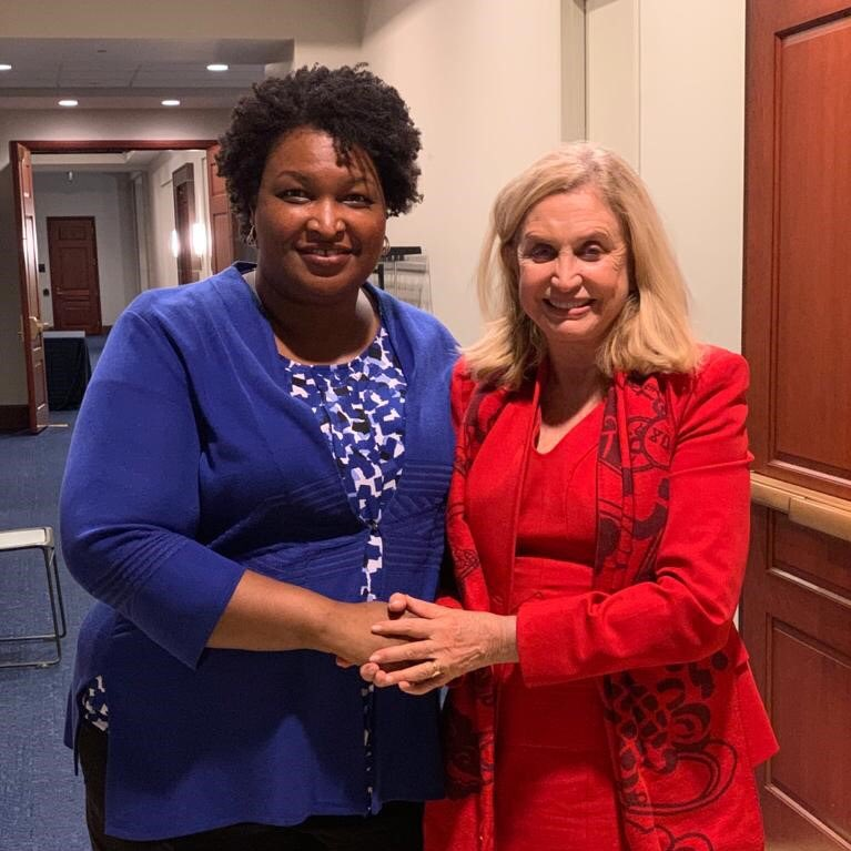 It was so fantastic to see @staceyabrams at last night's #TriCaucus dinner. She is something special! Her work to expand voting rights #ForThePeople is exactly what we need to strengthen our democracy.<br>http://pic.twitter.com/jpCWTT7RPM