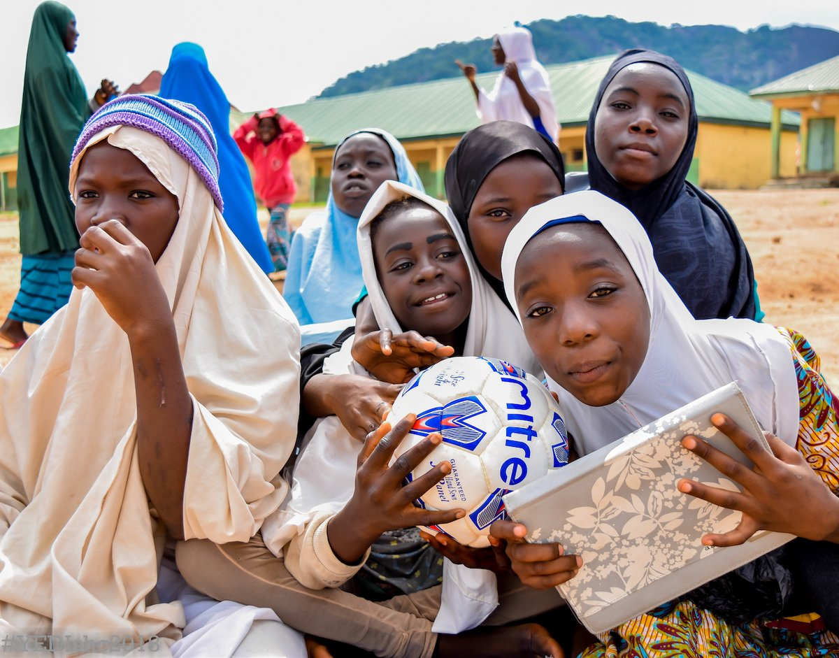 Since 2011, 200,000 young people have participated in @yedinaijas 🇳🇬 programmes, which incorporate prevention messages about malaria, polio, AIDS and other STDs. Learn more about the great work of the FIFA Foundation-supported association: fifa.to/0dijY9PCc2
