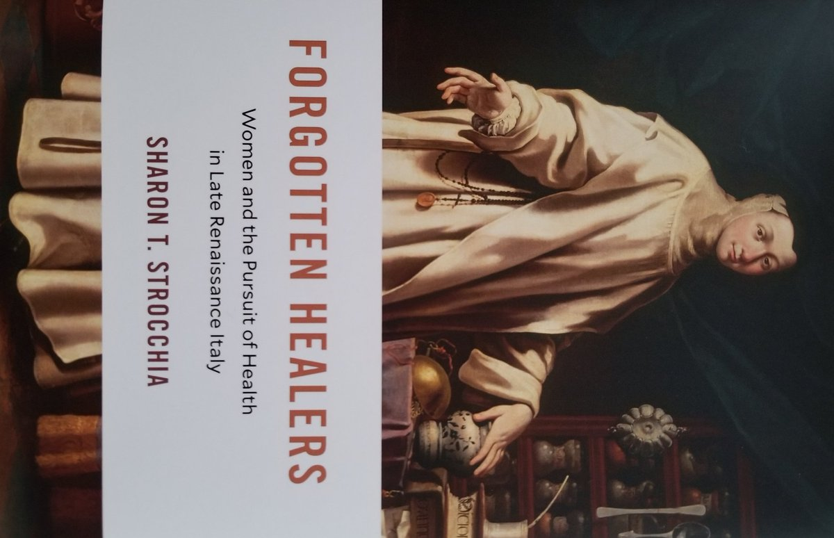 Excited to say my new book is out! Forgotten Healers: Women and the Pursuit of Health in Late Renaissance Italy. 30% discount thru Dec @Harvard_Press #twitterstorians  #histMed #womenalsoknowhistory #earlymodern #HistNursing #nuntastik #pharmacy #histsci  #womenshealth<br>http://pic.twitter.com/PQo14LaRu6