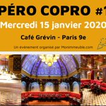 Image for the Tweet beginning: #EVENEMENT Mercredi 15 Janvier 2020,