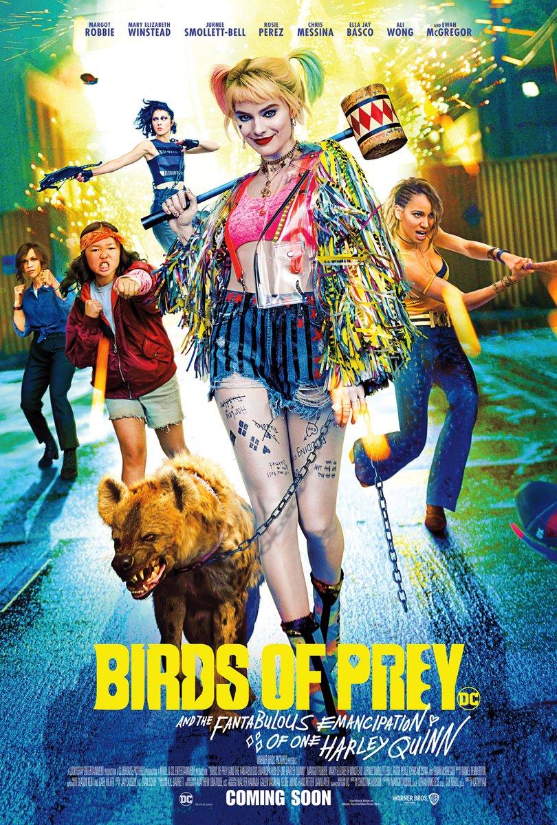 Here's to emancipation. #BirdsOfPrey  in cinemas February 7<br>http://pic.twitter.com/REiYq4DreV