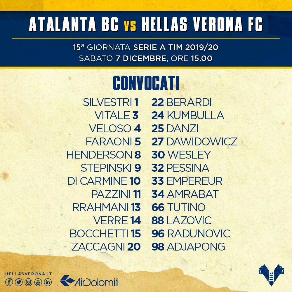 Hellas Verona FC @HellasVeronaFC