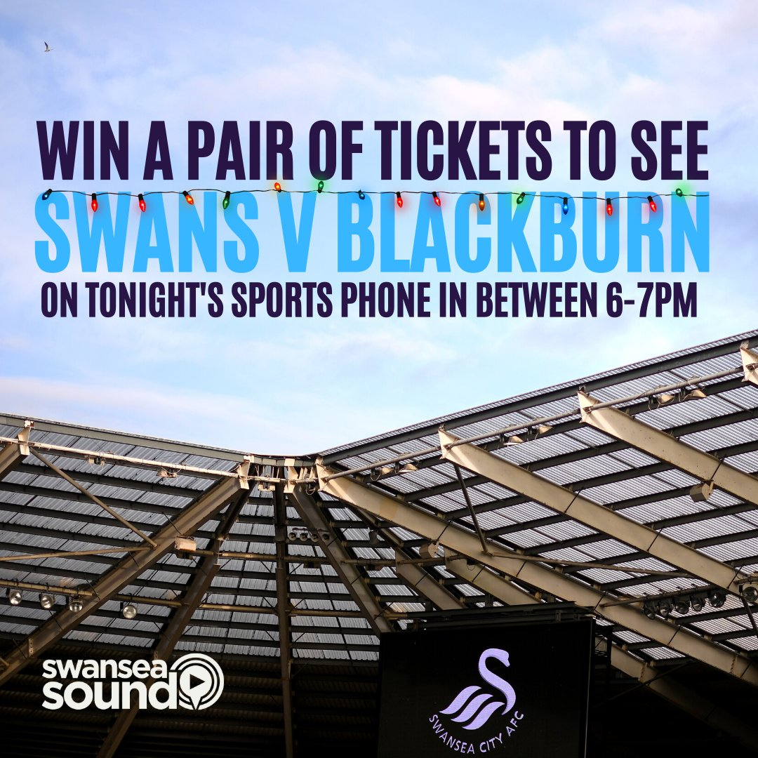 We are gearing up for Swansea Sound's Real Sports Phone In! We have a pair of #Swans tickets to give away plus we'll be taking your calls on #Ospreys, #Swans, #Euro2020 & more! Pop the kettle on and join us for tonight's #SSRSPI with Dave Brookes!  ☎️ 01792 893031