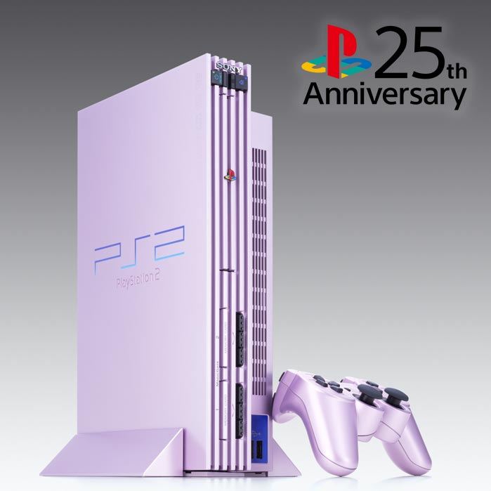 Named after the flowering cherry tree, the Sakura Pink PS2 added an elegant color to the console lineup back in 2004 #25YearsOfPlay <br>http://pic.twitter.com/xfaYwxYMSk