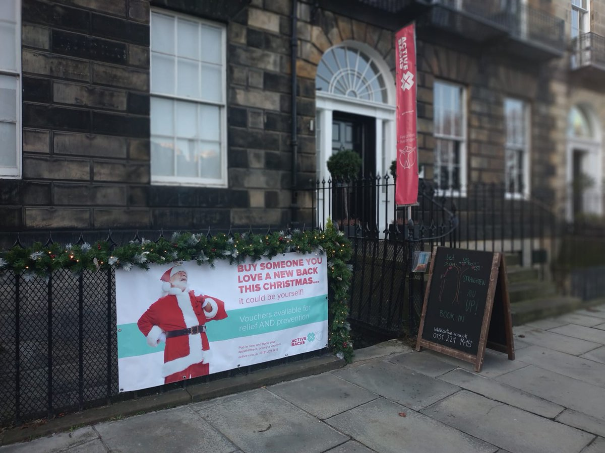 Christmas is coming!! Can you think of a better gift than taking the pain away? -> Gift a new back, or knee, or shoulder!  Book in now:  #NoMorePain #backpain #kneepain #neckandshoulders #Painfree #ActiveX