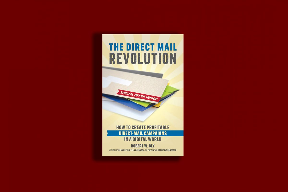 Book of the Week: 'The Direct Mail Revolution' http://bit.ly/2DP4Uua  via @entrepreneur #socialmedia #tech