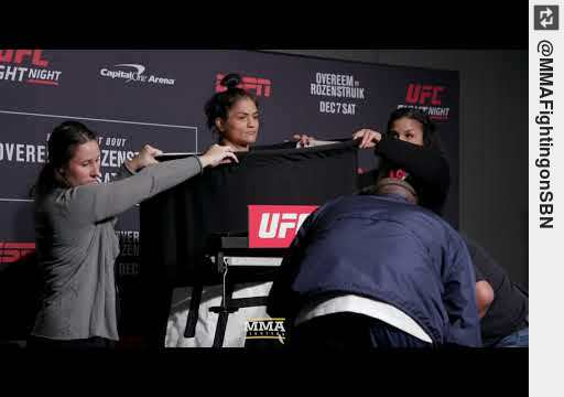 Watch #UFC on ESPN #[17] #WeighIns: #CynthiaCalvillo Misses Weight - MMA Fighting http://y2u.be/GAwHkqqyCMM #mma
