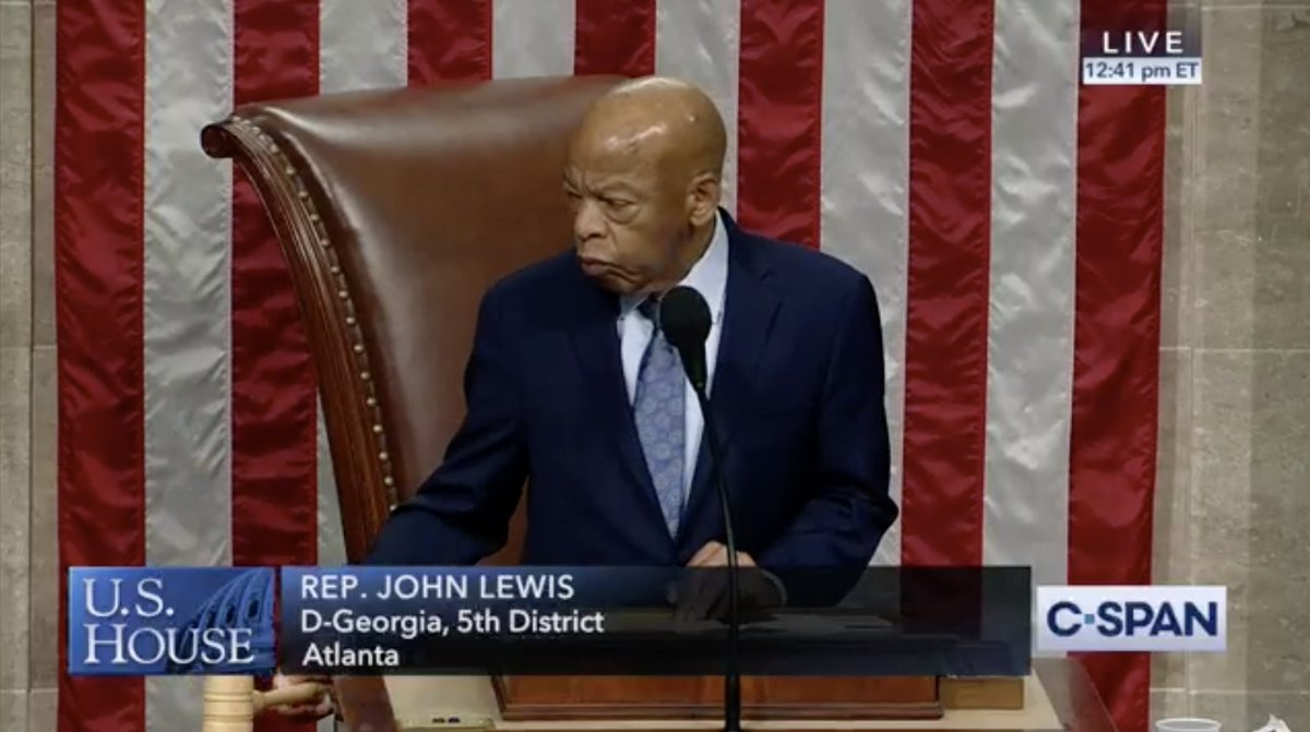 VICTORY: With @repjohnlewis  presiding, the House has passed #HR4  to fully restore the Voting Rights Act of 1965 – a top priority for the civil rights community.  The Senate must take up this legislation immediately. Our democracy depends on it. #RestoreTheVOTE