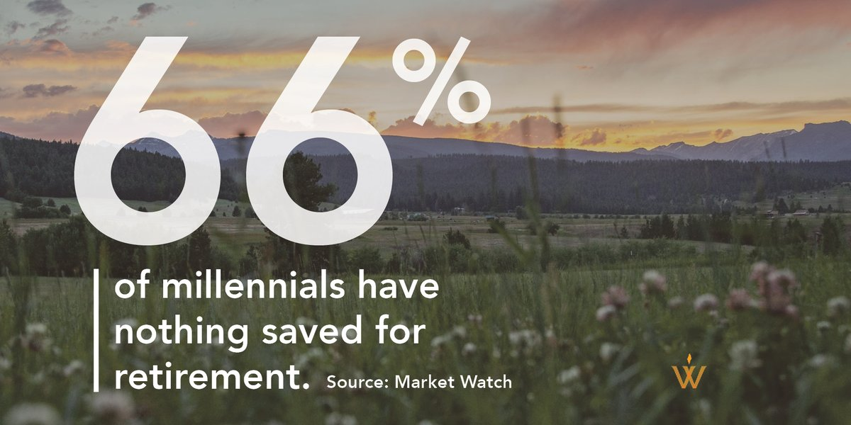 What does that mean for you?  It means you have a chance to help #millennials. Their parents might be your current clients, but you won't want to lose business when millennials inherit wealth and have an opportunity to grow their #retirement savings. https://t.co/Bc9qUZUd3N