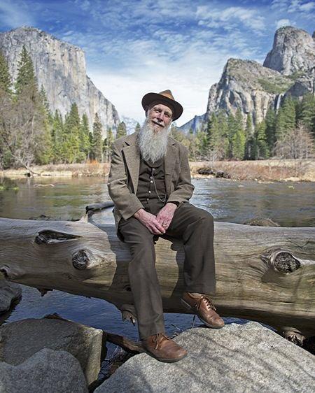 Impersonating John Muir 😂