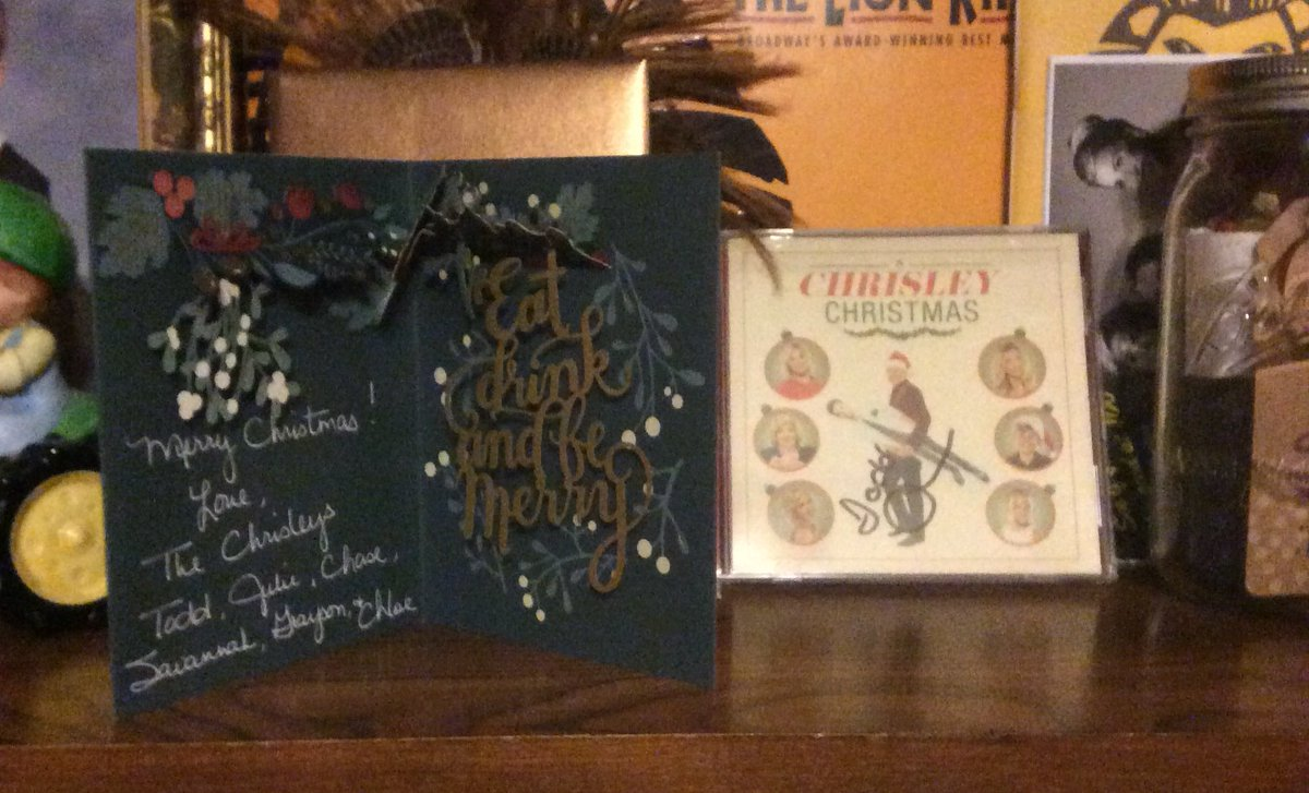 Ever since I received my Christmas package a few years back.....I always bring it out for the holidays!!! I hope you all have a Merry Christmas this year...as usual y'all are the best!! @Chrisley_USA @toddchrisley @JulieChrisley @_ItsSavannah_ @ChrisleyChase #ChrisleyKnowsBest <br>http://pic.twitter.com/tn7CT3exLM