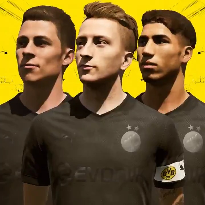 ⚫+⚫=🔥 The new @BVB Special Kit is pure class 👌🏽🖤 Available in-game NOW.