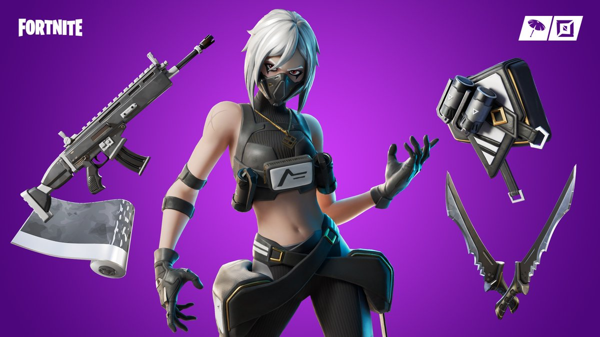 Keep it down 🤫 Check out the new Hush Outfit and the rest of the Silent Stalkers Set in the Item Shop now!