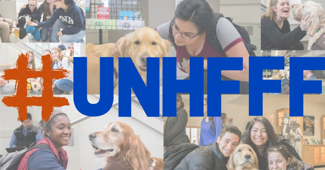 Finals begin next week, which means Frazzle Free Finals also begins next week! Stop by the UNH Library next Tuesday & Wednesday to make your final experience free of any frazzle! Use #unhfff to share how you're staying frazzle free next week. #UNHLibrary #ThisIsUNH