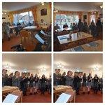 Image for the Tweet beginning: Our Stroke Club girls singing