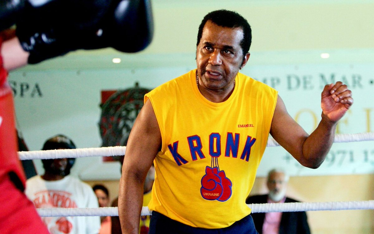 Legendary trainer and Kronk Gym owner Emanuel Steward, who the boxing world sadly lost in 2012 #boxing #history