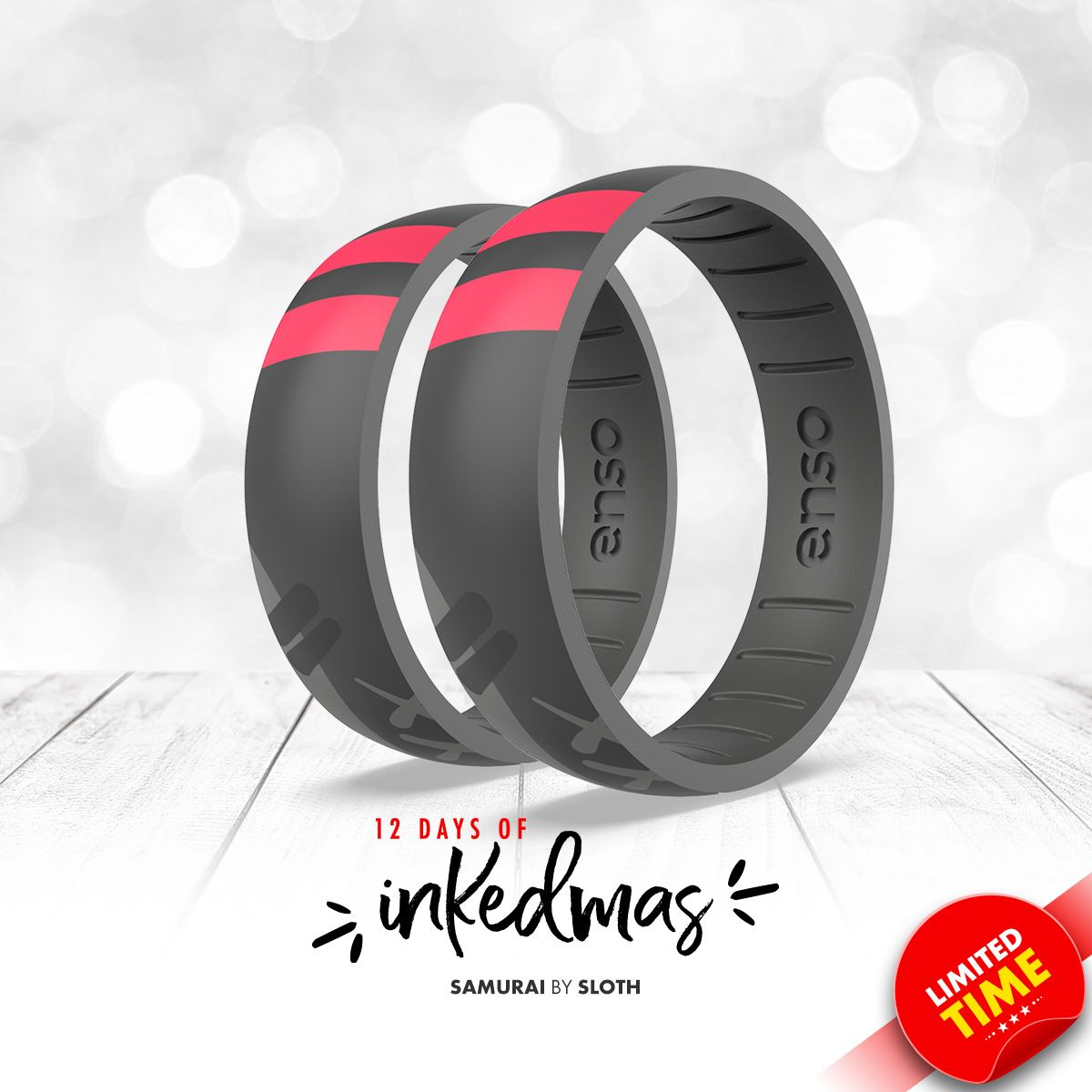 On the sixth day of #INKEDmas Enso Rings gave to me ... a Samurai ring by @iamsloth.  https://t.co/2Ph90Frrf1 https://t.co/ZNjMPuSn7T