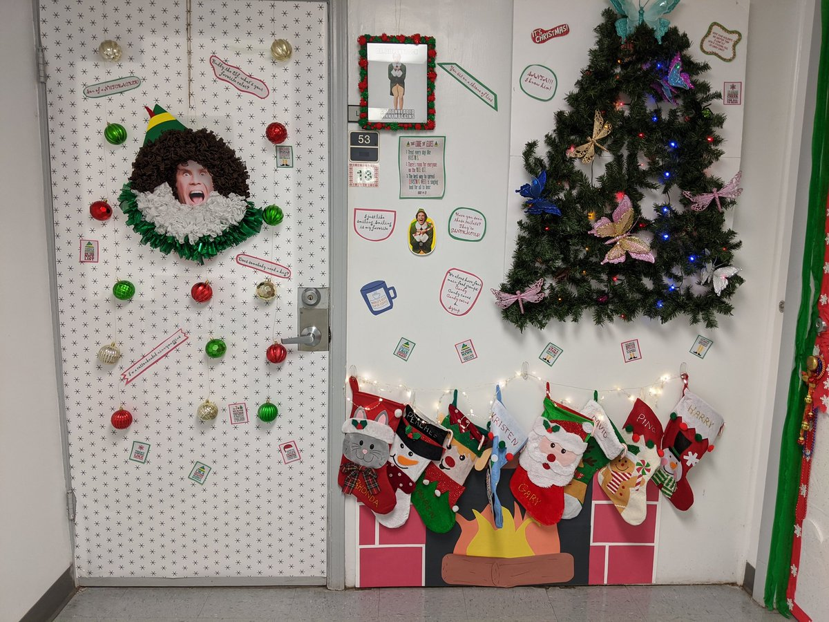 It looks like Elf visited @UFCitrusBugs ❄️🎄 Remember, 'there's room for everyone on the nice list' 😆