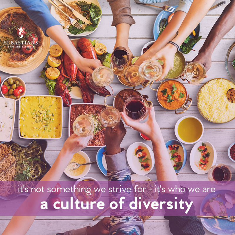 Sebastians Corporate Cafés values diversity and what makes each one of our clients, customers and associates unique. #GreatPeople #GreatService #acultureofdiversity