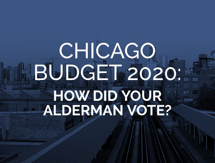 city of chicago budget 2020