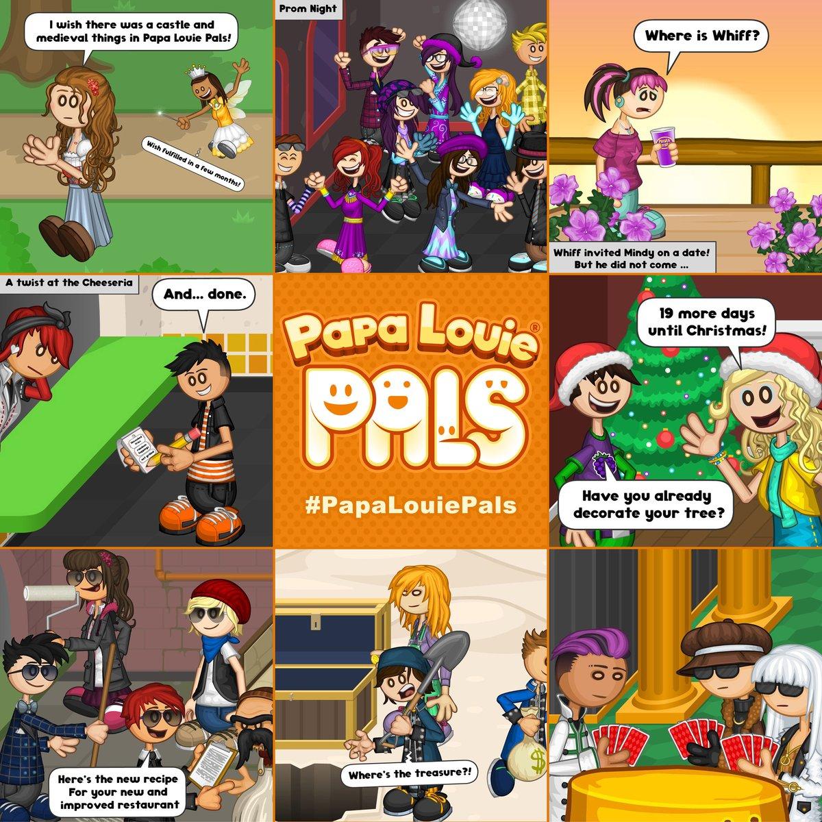 Flipline Studios On Twitter Papa Louie Pals Scenes And A