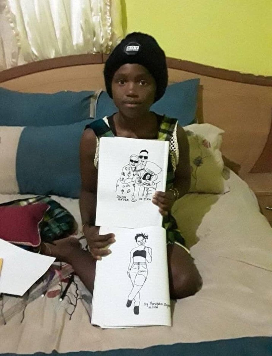 16 year old Nosipho is very much talented. Let make her famous.