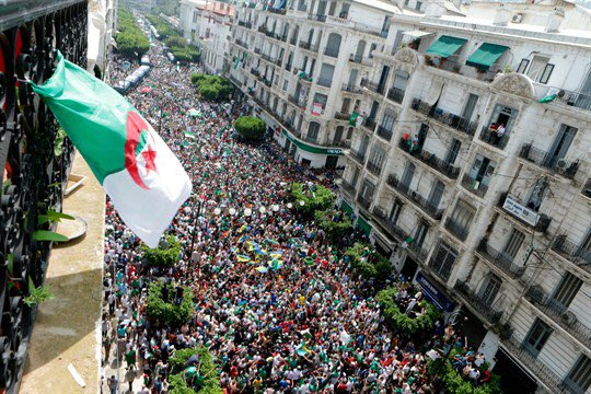 Algeria population is lesser than ours , see how they came out in mass to protest. We can do better.#ThingsFallApart #FreeSoworeAlready<br>http://pic.twitter.com/sLxy6Iwl2M