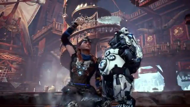 New Horizon Zero Dawn: The Frozen Wilds gear is coming to #Iceborne ❄️See the Adept Stormslinger, new Aloy armor and more