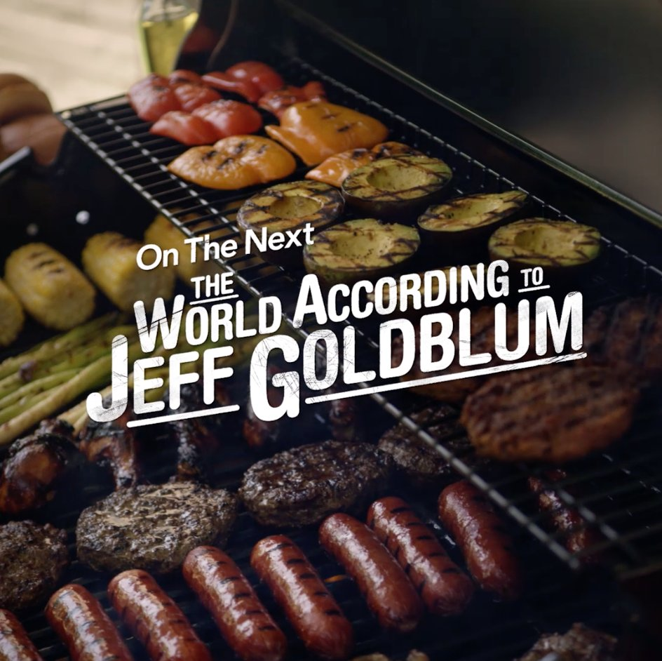 Grilling and chilling sounds like a plan to us. ♨️👍 See what's ~sizzling~ on an all-new episode of #TheWorldAccordingToJeffGoldblum, streaming now on #DisneyPlus.