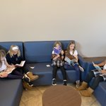 Image for the Tweet beginning: Silent reading in our Bulldog