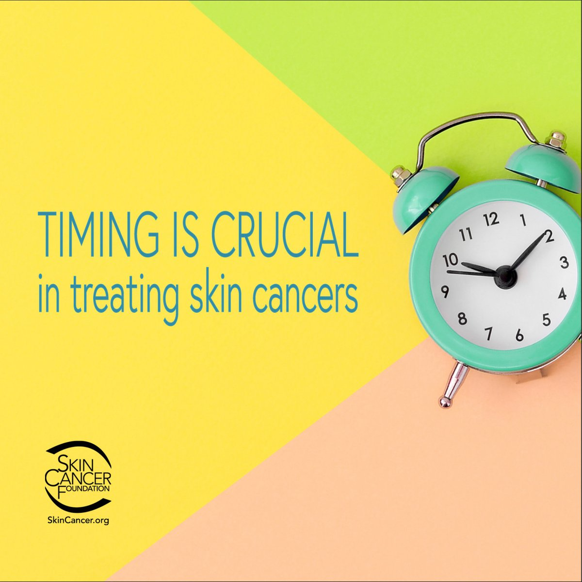 Can you leave your #skincancer alone? Two of our physician experts answer why, when you've been diagnosed with a skin cancer, time is of the essence. bit.ly/SCTiming