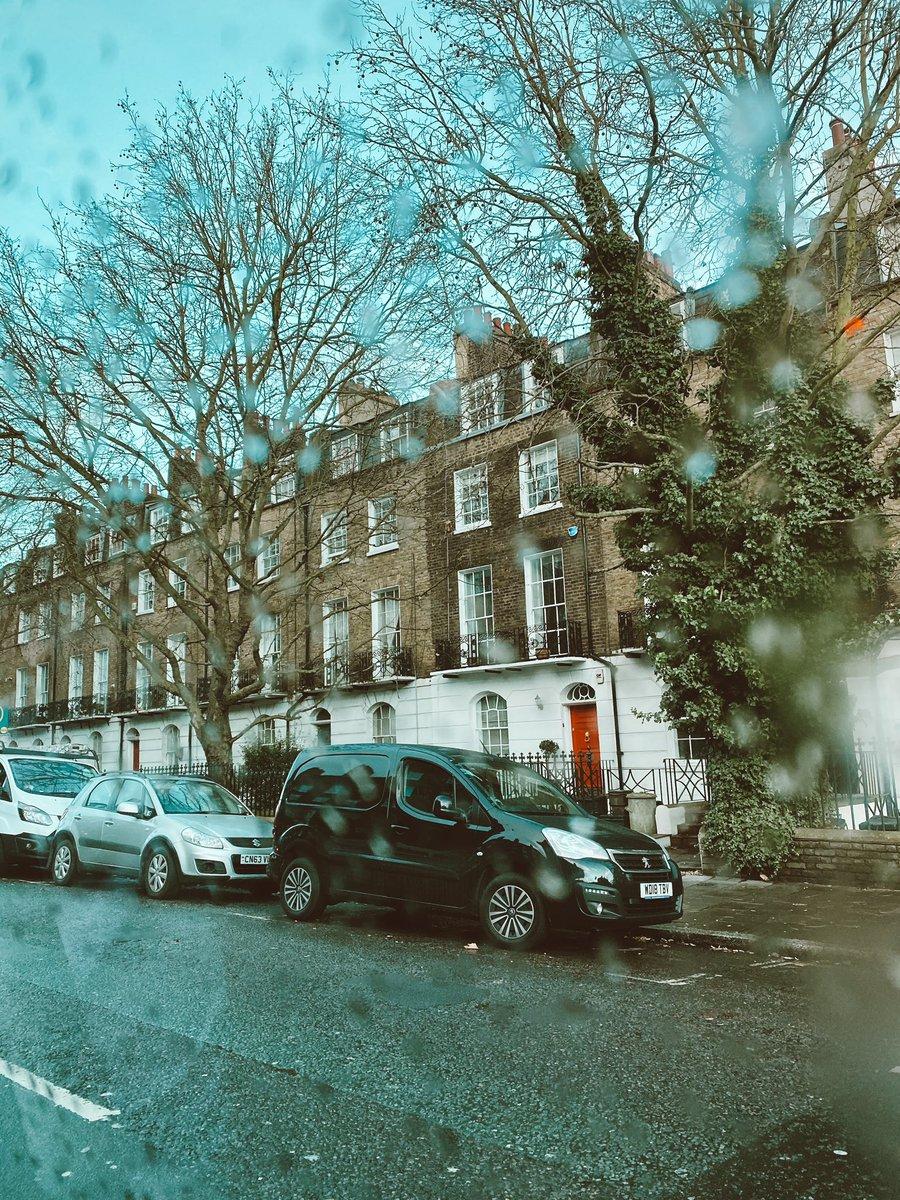 Rain in London is art