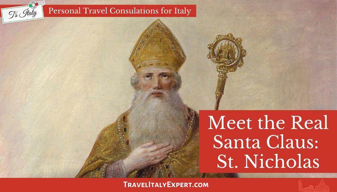 Meet the REAL #SantaClaus!   is St. Nicholas, a third century bishop from Asia Minor, considered #Santa and a beloved #saint in Bari, #Italy? #travel #Italia #Christmas  #instaxmas #santaclaus  #santa #fun #christmastree #fatherchristmas