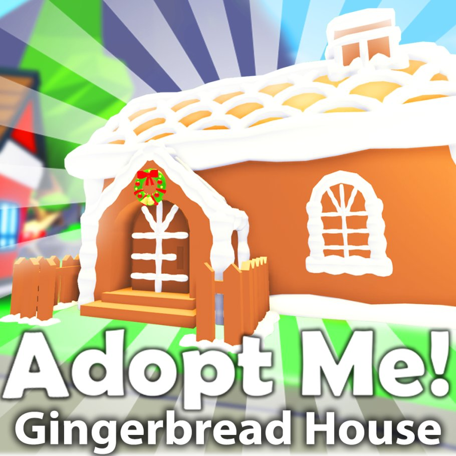 Adopt Me On Twitter Update Time New Gingerbread House