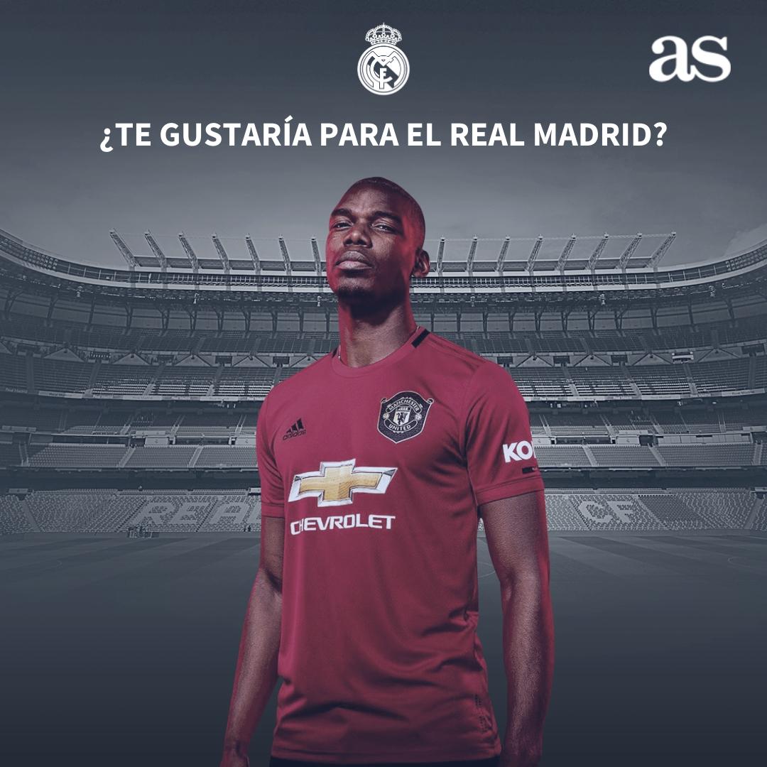 🇫🇷 LEquipe asegura que Paul Pogba será madridista antes de la EURO 2020 🤔 ¿Te parecería un buen fichaje? 🔁 No ❤️ Sí