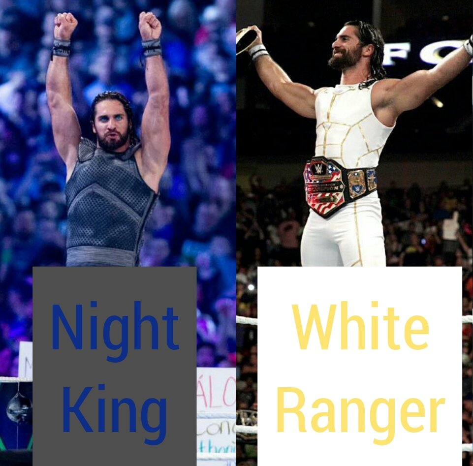Your top 3 favourites out of these @WWERollins outstanding gears? #FlashbackFriday 👀👀🔥🔥