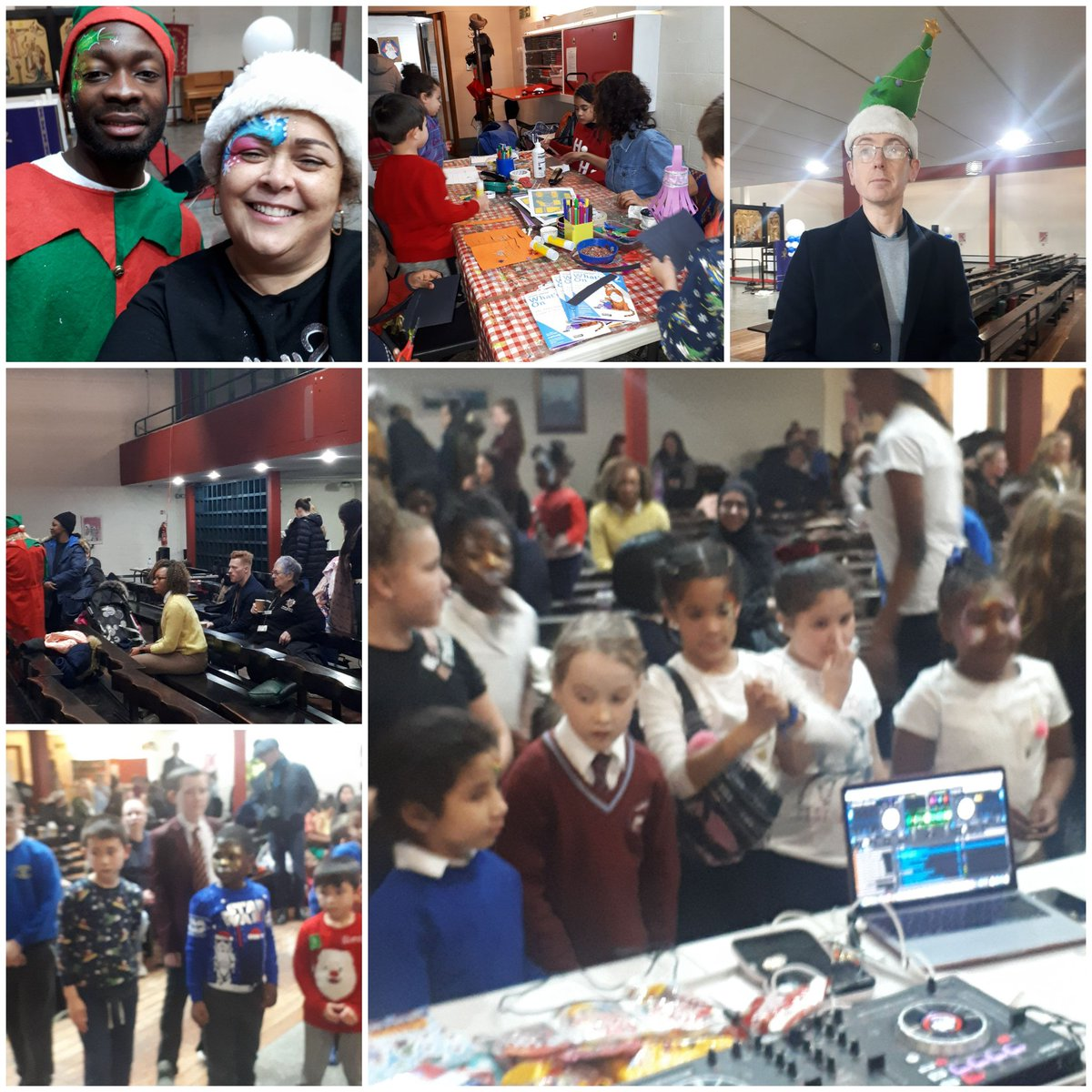 What a brilliant event in hulme park & ascension church. Hundreds of children meeting father & mother christmas @kemoywalker @GMPMossAndHulme @MCCHulme @RahmanCllr @AnnetteWright @CllrNigel @AscensionHulme @LeeGlover1975 @HulmeOf thank you to all the helpers well done