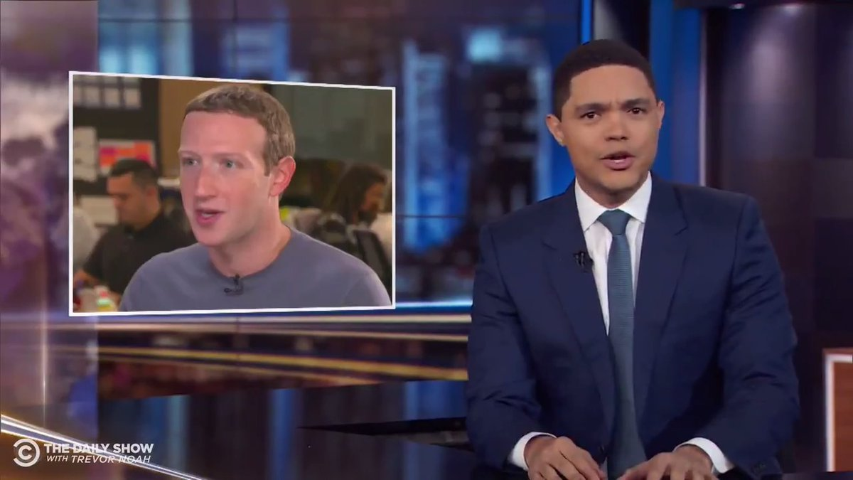 Zuckerberg met with Trump and *now* thinks privacy is important.