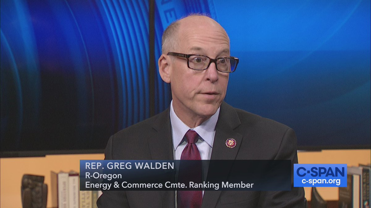 #Newsmakers with @repgregwalden, questions from @scottwongDC & @susanferrechio – 10pm ET on C-SPAN cs.pn/2OUpAai