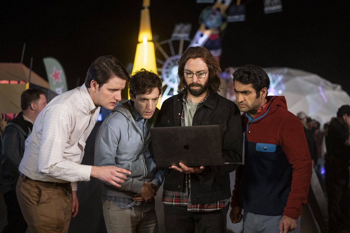 Code like there is no tomorrow boys, because ...*sniff*... there literally isn't.  Stream the series finale of @SiliconHBO tonight.