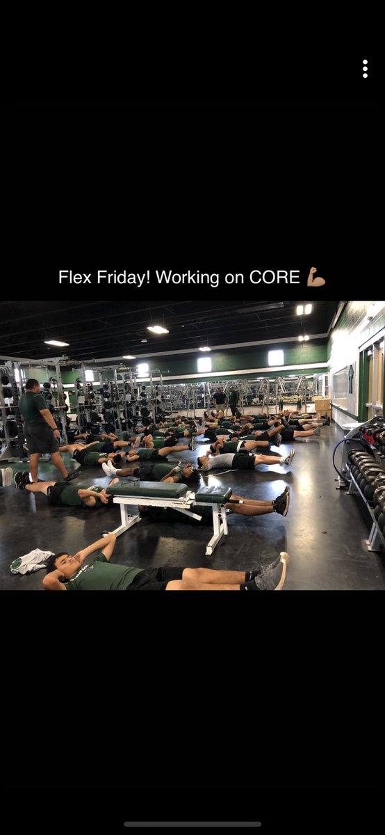 #FLEXFRIDAY IN FULL EFFECT TODAY FOR OUR FOOTBALL TEAM!  #LeanMean&Green<br>http://pic.twitter.com/NDby0U6LV3
