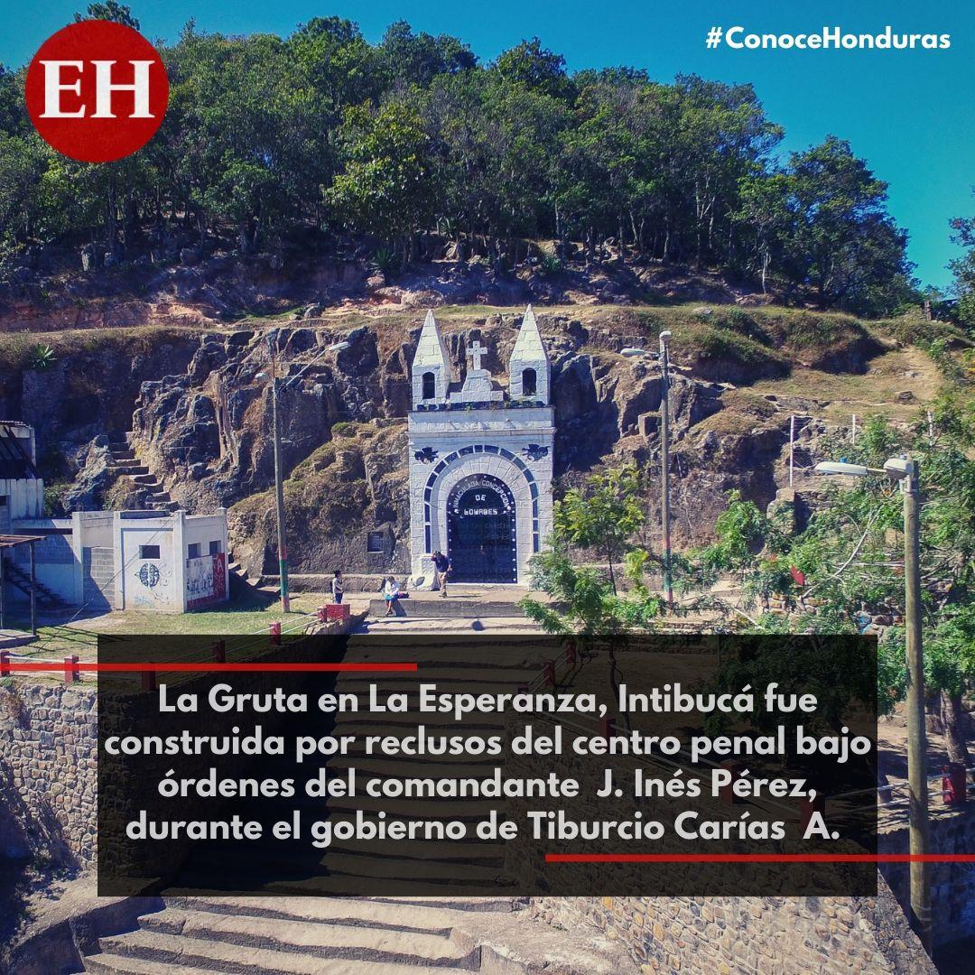 #ConoceHonduras La Gruta es uno de los lugares favoritos de los turistas. Un clima fresco y agradable, contacto con la naturaleza, sitios temáticos y la amabilidad de su gente harán de tu visita en La Esperanza, Intibucá algo inolvidable 😍🇭🇳❤️
