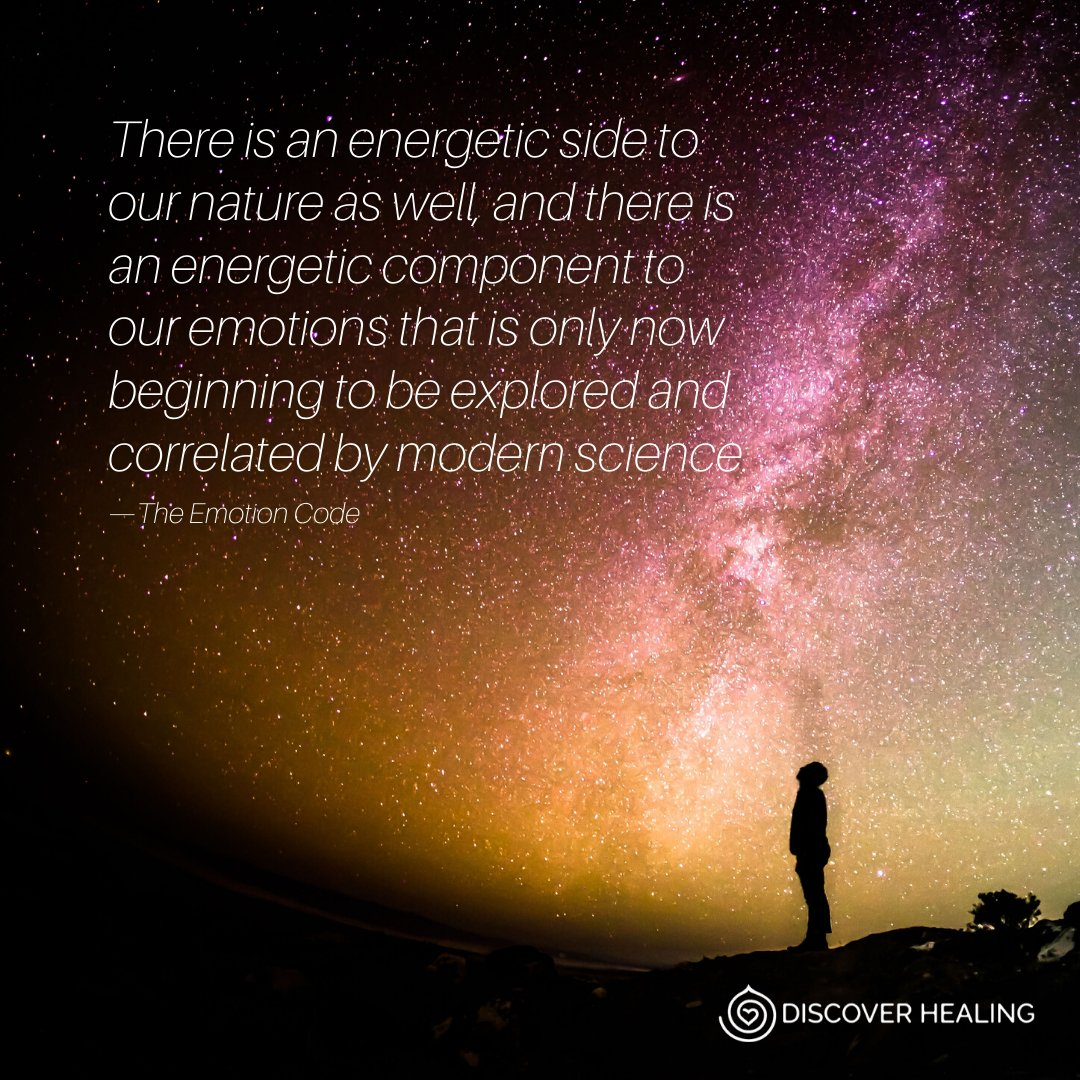 The correlation energy has with our emotions is just now beginning to be explored by modern science. Have you noticed this correlation in your own life?    #discoverhealing #energyhealing #theemotioncode #thebodycode #energy #healing #meditation #wellness #spiritualdevelopment pic.twitter.com/7Yhdu6BFzx